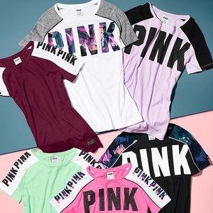 💜VS PINK Perfect Crew Tee💜